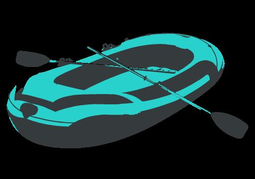 Das richtige Schlauchboot für die Isar-Schlauchboot-Tour
