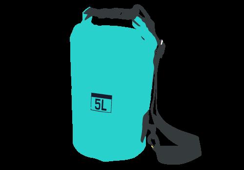 Wasserdichte Taschen (Dry Bag) für die Schlauchboot-Tour