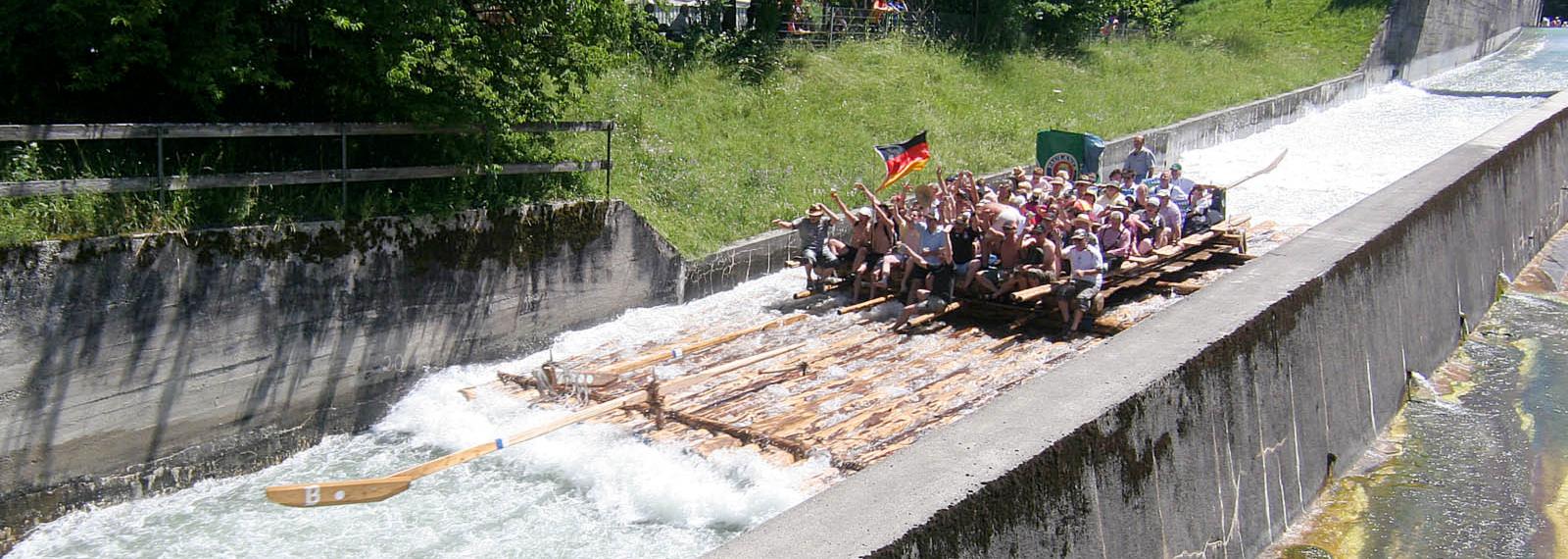 die längste Flossrutsche Europas